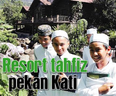Sekolah Tahfiz Dalam Ladang Mestitengok